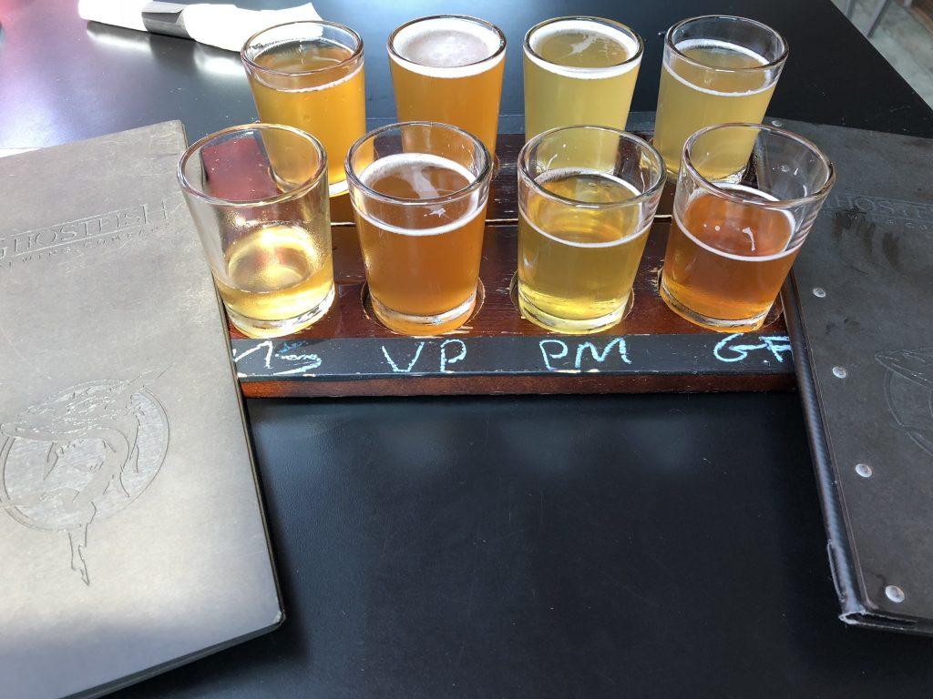 GhostFish Brewing Company Tasting